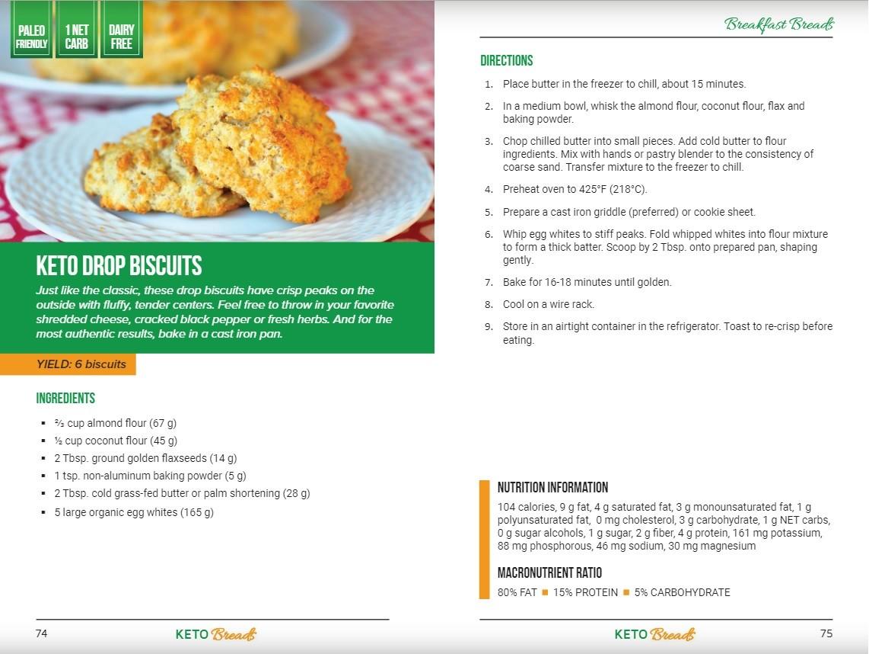keto breads recipe example
