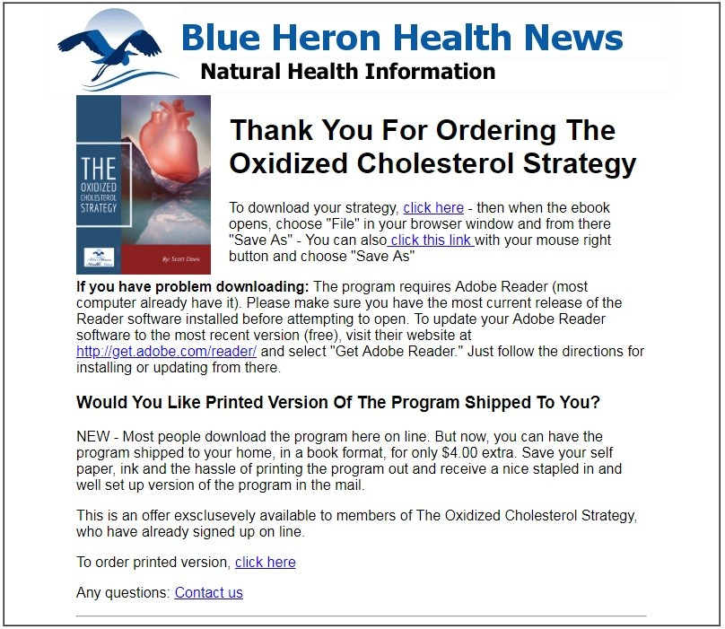 Oxidized Cholesterol Strategy Download Page