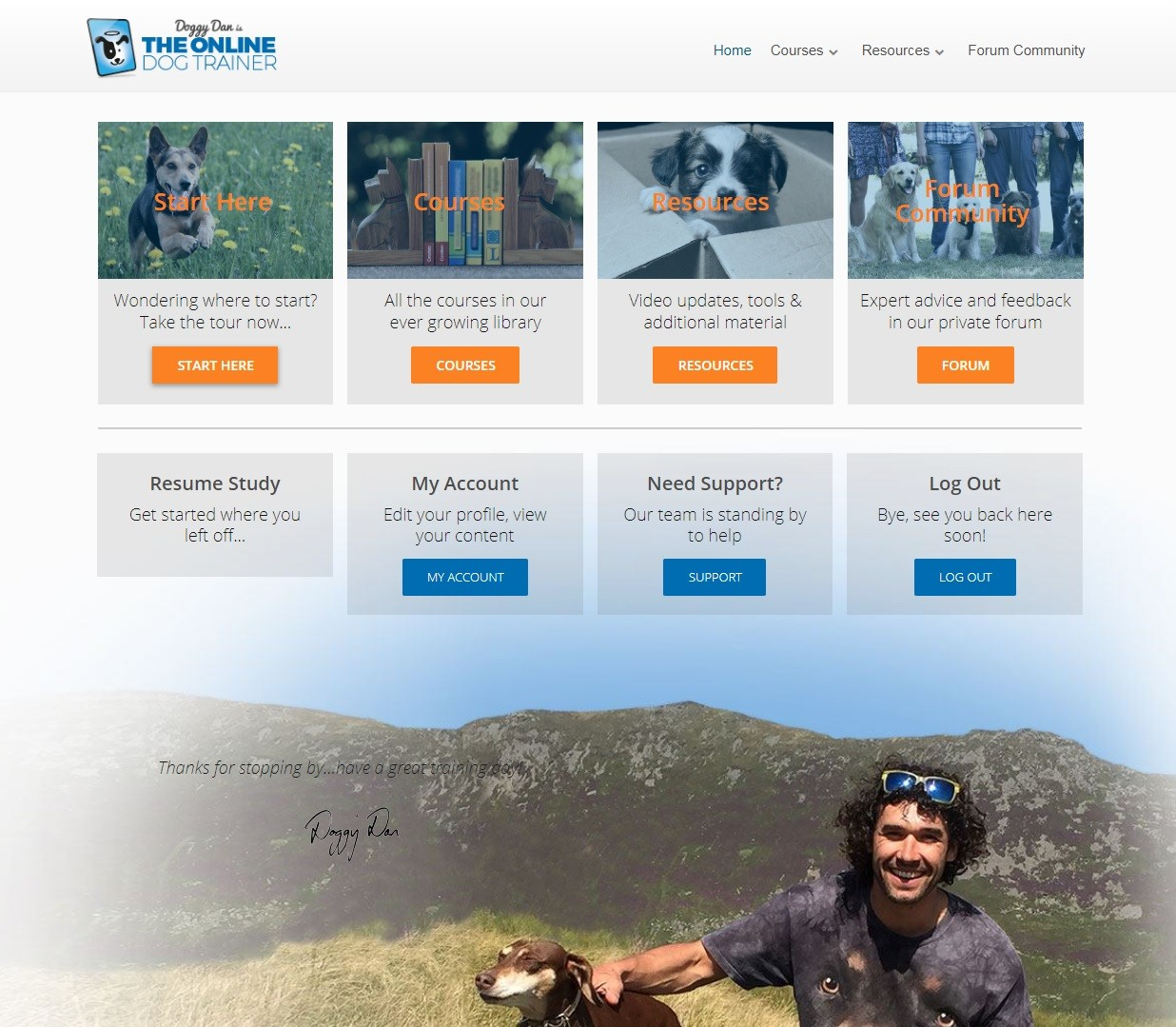 The Online Dog Trainer Download Page