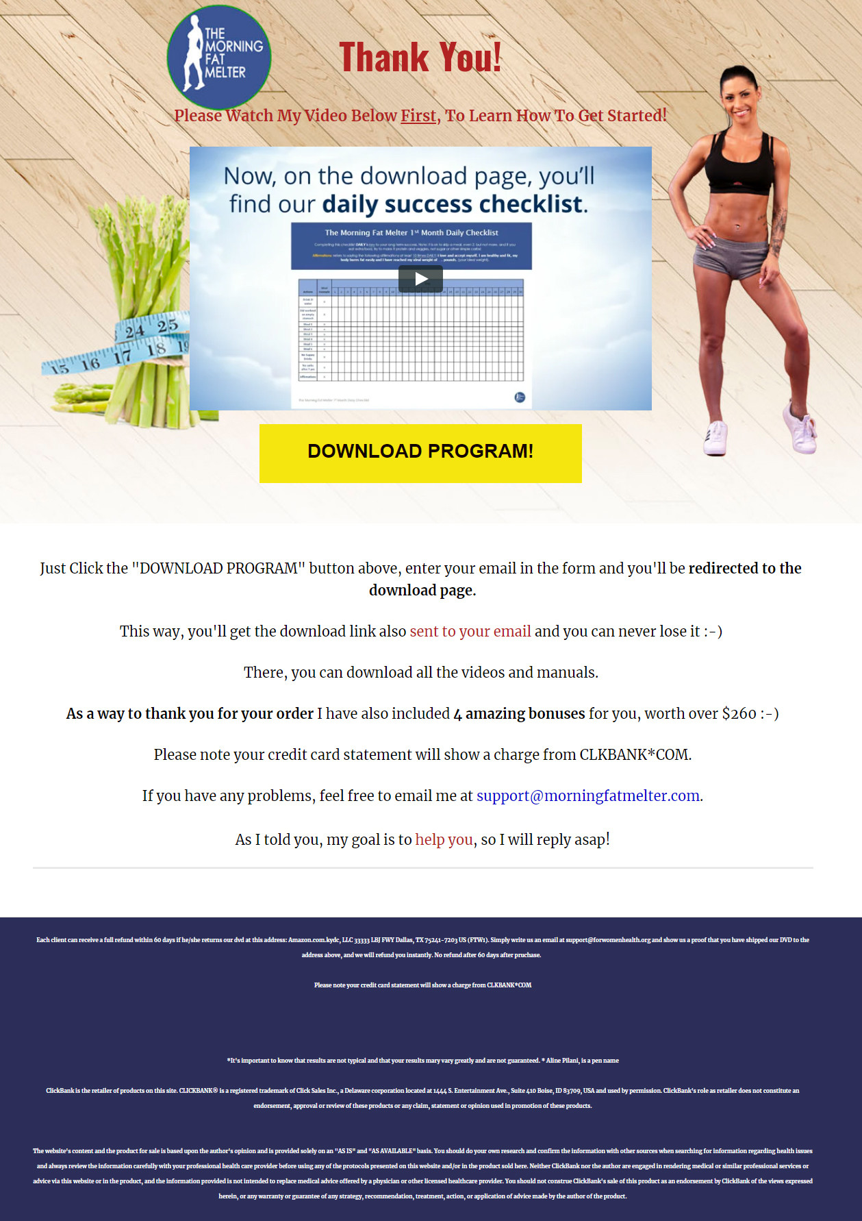 Morning Fat Melter System Download Page