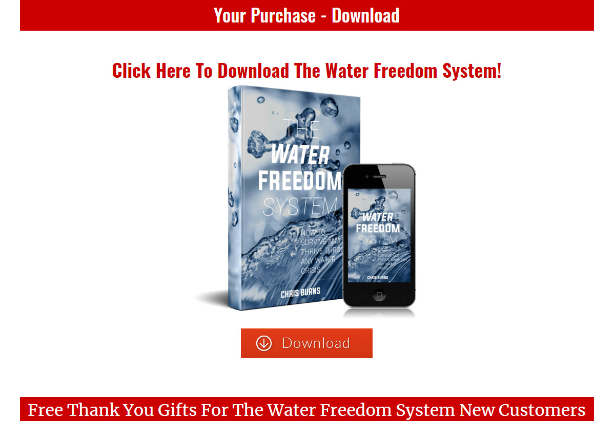 Water Freedom System Download Page