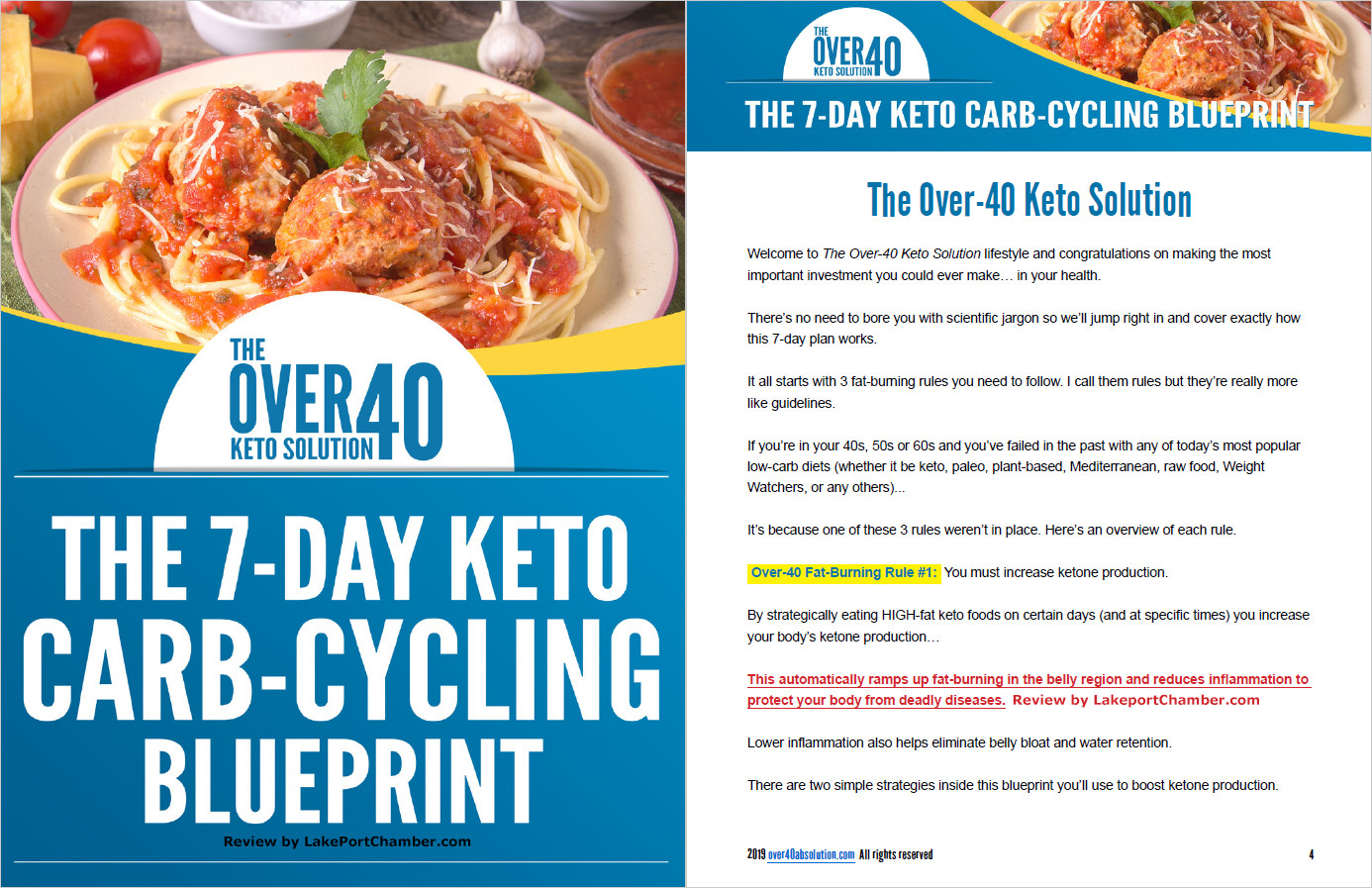 The Over 40 Keto Solution Table of Contents