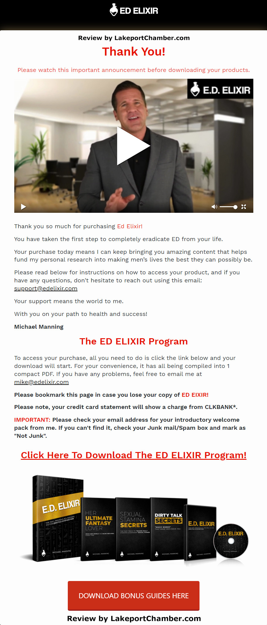 ED Elixir Download Page