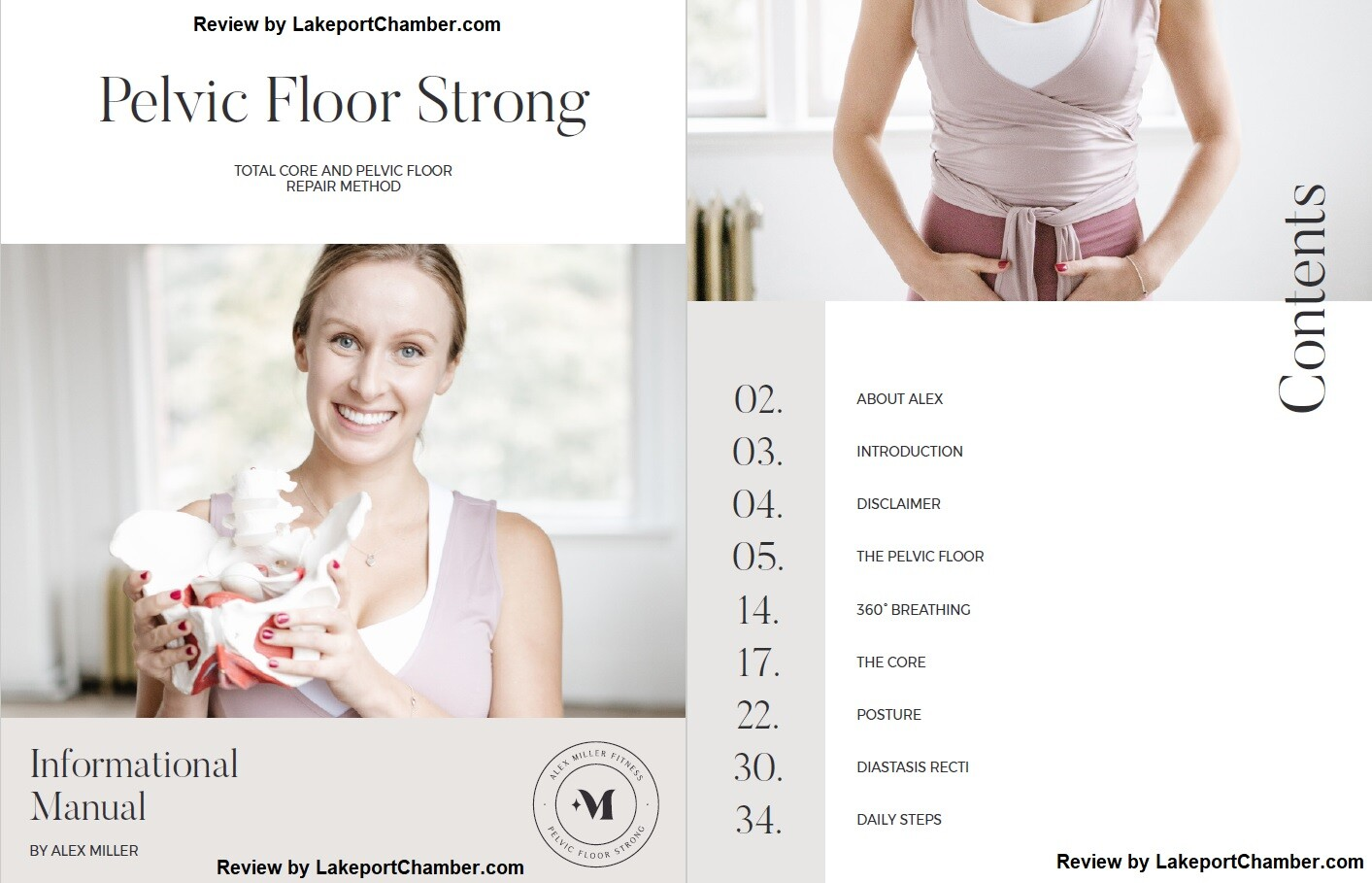 Pelvic Floor Strong System Table of Contents