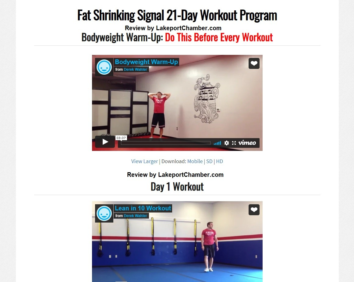 The Fat Shrinking Signal Download Page