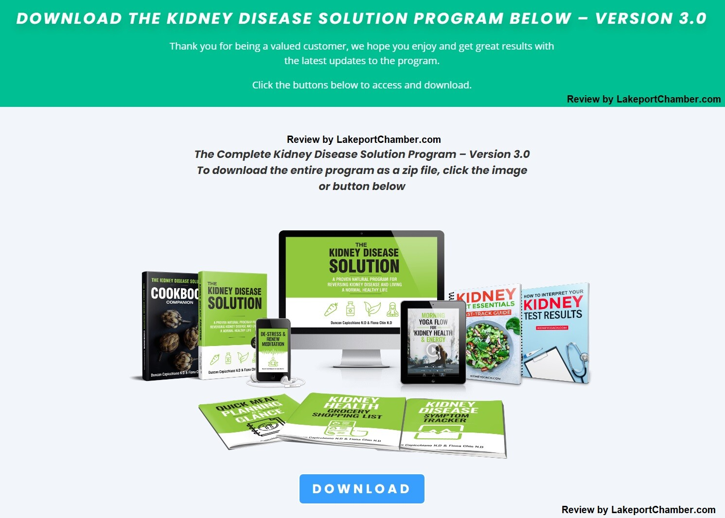 The Kidney Disease Solution Download Page